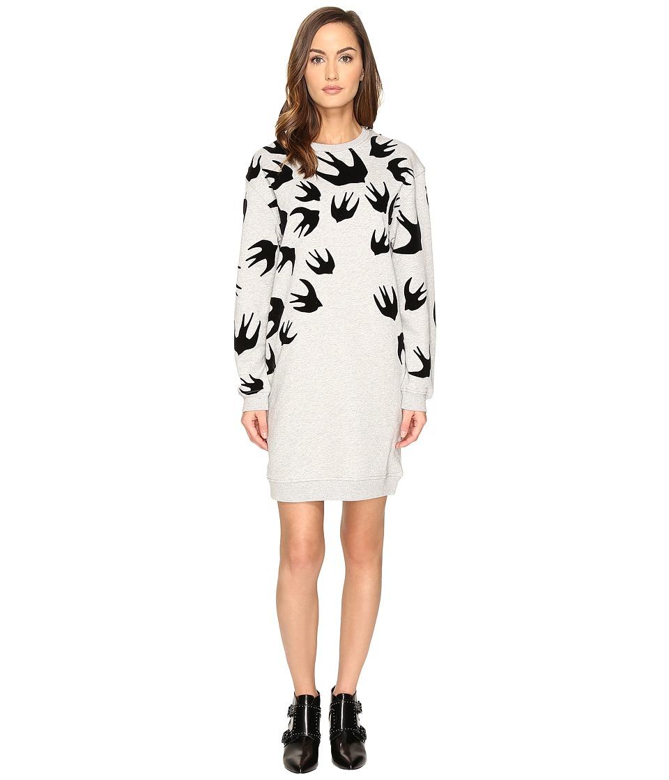 McQ Classic Sweater Dress (Mercury Melange) Women