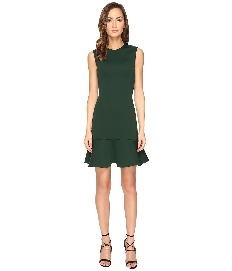McQ Peplum Mini Dress (Evergreen) Women