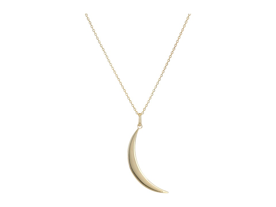 Dee Berkley - 14KT Yellow Gold Crescent Moon (Yellow Gold...