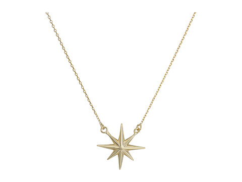 Dee Berkley 14KT Yellow Gold North Star Necklace - Yellow Gold