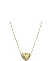 Dee Berkley - 14KT Yellow Gold Puffy Heart Necklace