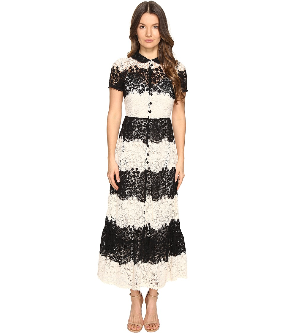 RED VALENTINO - Macrame Dress