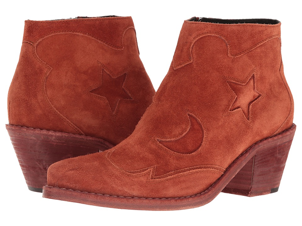 McQ Solstice Zip Boot (Rust) Women