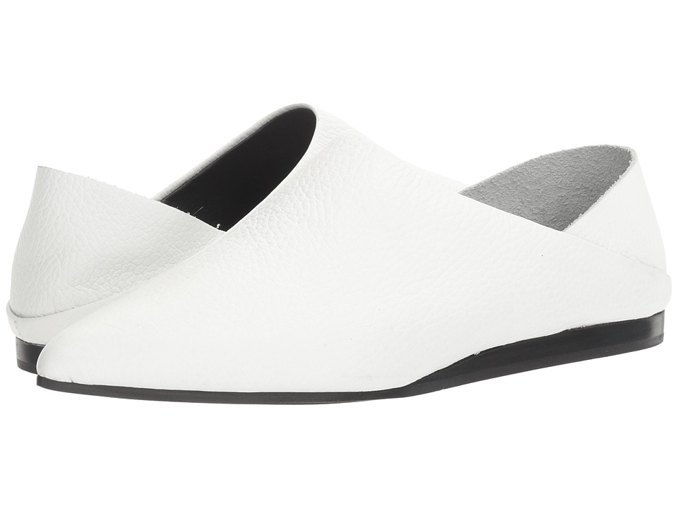 McQ - Liberty Fold (White) Womens Flat Shoes