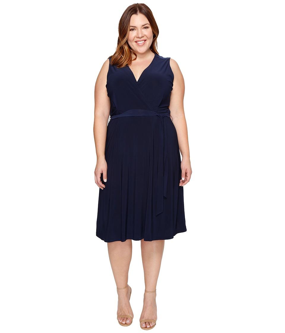 B Collection by Bobeau Curvy - Plus Size Addie Wrap Dress