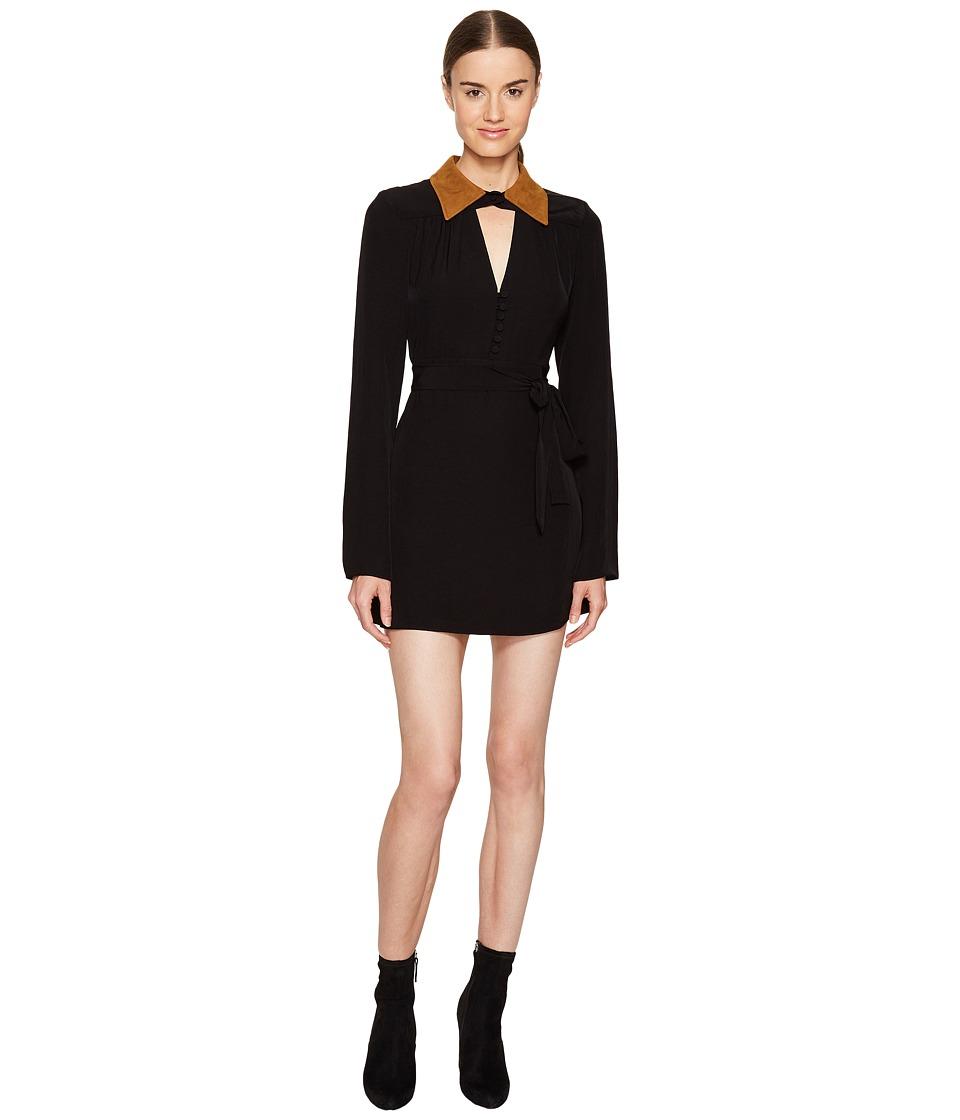 McQ Collar Dress (Black) Women