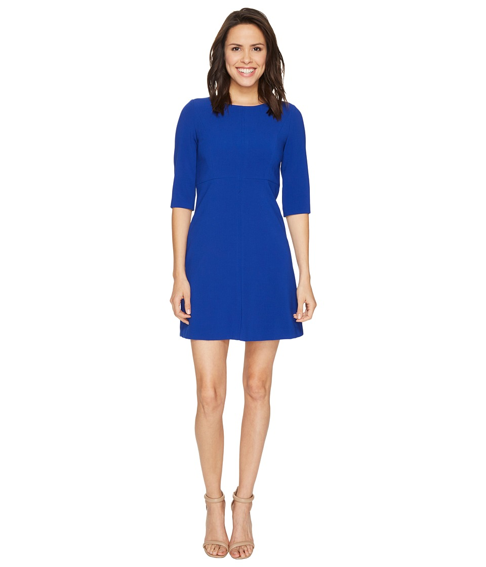 Tahari by ASL Tahari by ASL - Classic Double Woven Sleeved A-Line Dress