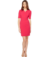 Tahari by ASL - Double Woven 3/4 Sheath Dress