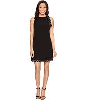 Tahari by ASL - Shift Dress with Polka Dot Detail