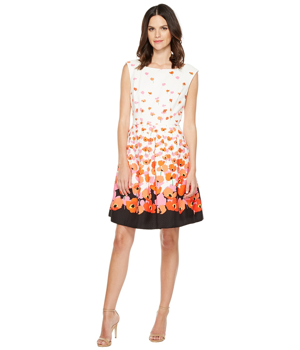 Tahari by ASL Tahari by ASL - Floral Jacquard Fit Flare Dress