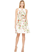 Tahari by ASL - Faille Floral Fit & Flare Dress