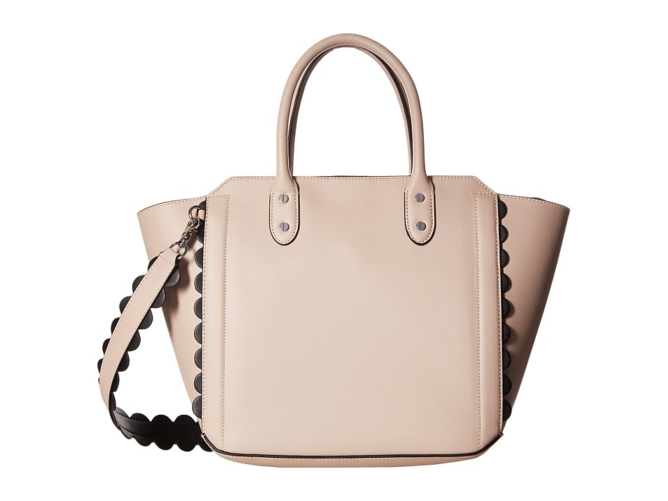 Ivanka Trump - Tribeca Solutions Satchel (Blush Core/Scallop Edges) Satchel Handbags