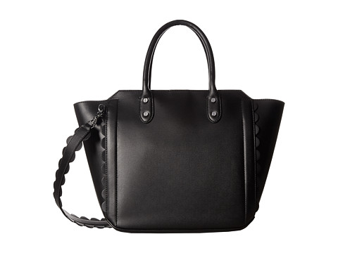Ivanka Trump Tribeca Solutions Satchel - Black Core/Scallop Edges