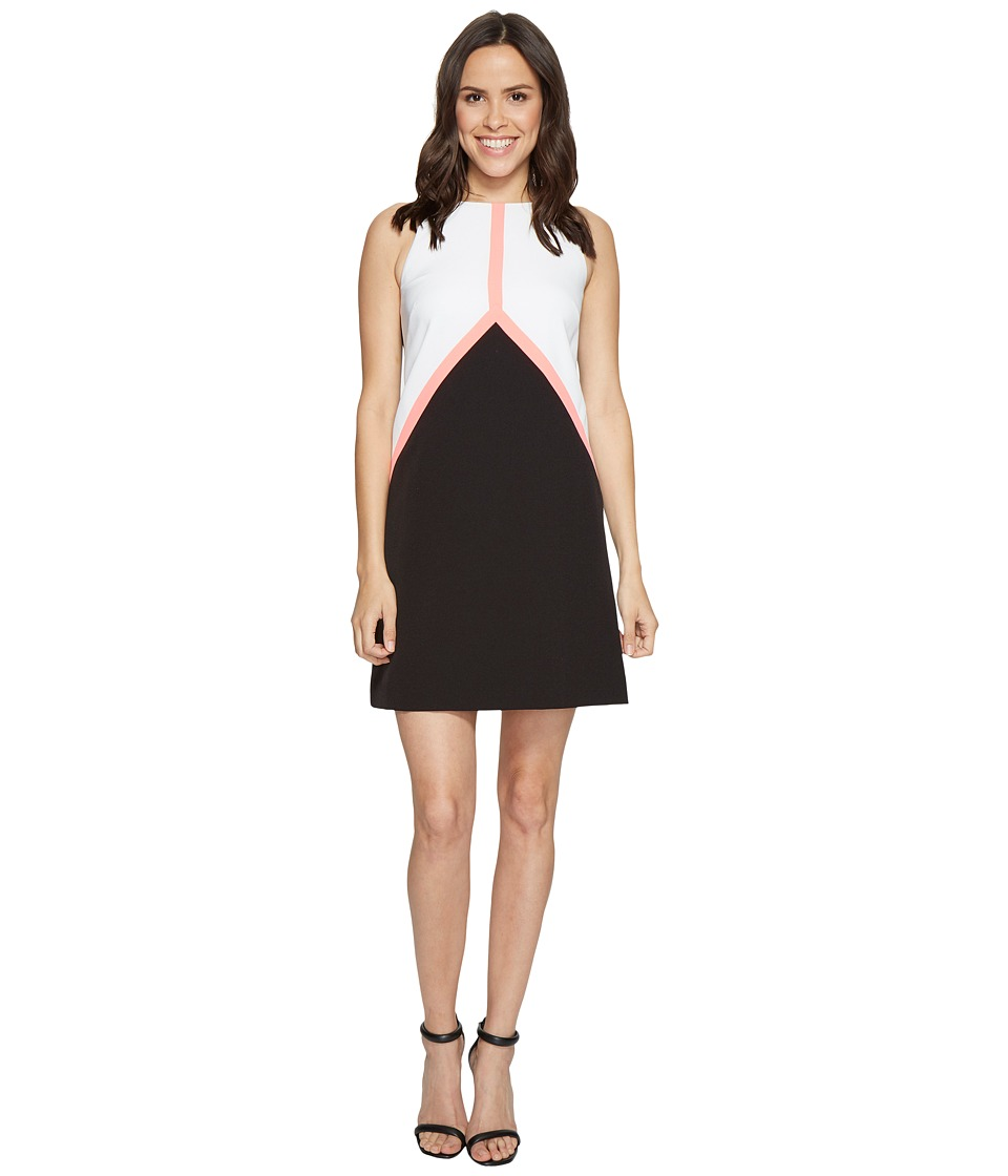 Tahari by ASL Tahari by ASL - Color Block Crepe Trapeze Dress