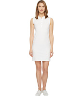 Lacoste - Sleeveless Micro Pique Polo Dress