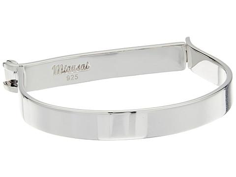 Miansai Thin Hudson Bracelet - Polished Silver