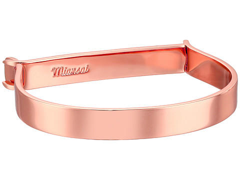 Miansai Thin Hudson Bracelet - Polished Rose Gold