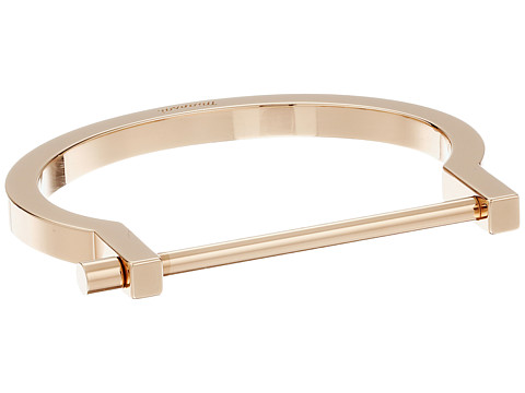 Miansai Modern Screw Cuff Bracelet - Polished Rose Gold