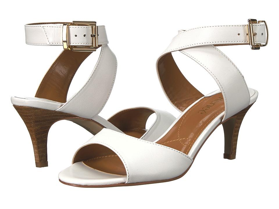 J. Renee Soncino (White/Kidskin) Women's Shoes