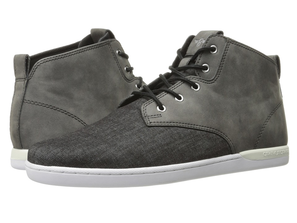 Creative Recreation - Vito (Wsahed Black) Mens Lace up casual Shoes
