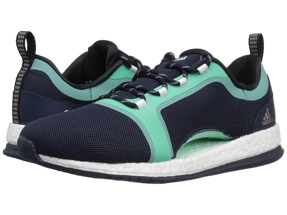 adidas Pure Boost X TR 2 (Collegiate Navy/Core Black/Easy Green) Women