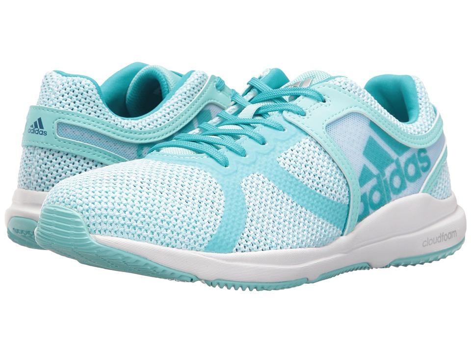 adidas CrazyTrain CF (Footwear White/Clear Aqua/Energy Blue) Women