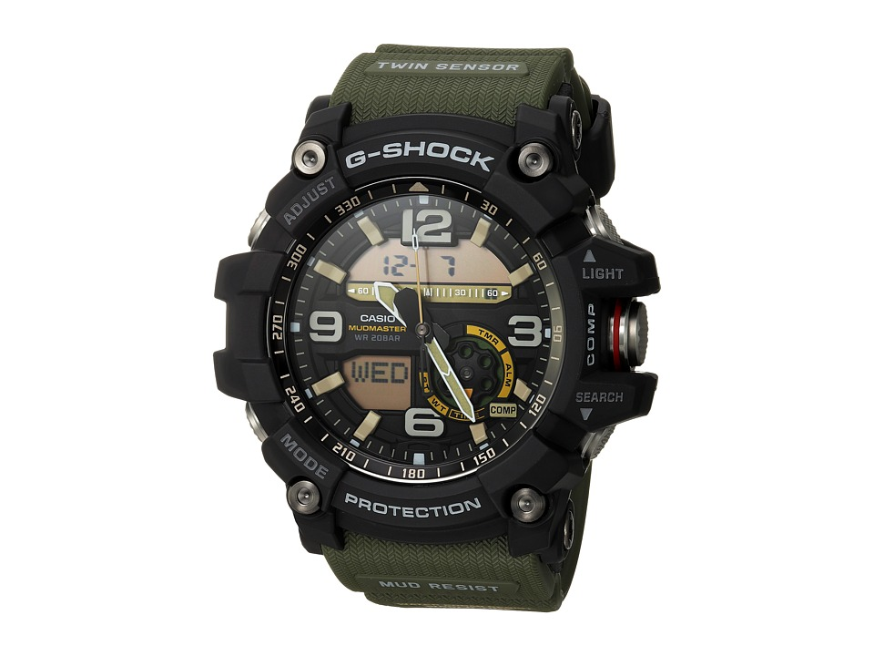 G-Shock - GG-1000 (Black/Green) Sport Watches