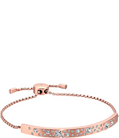 Michael Kors - Scattered Pavé Brushed Bar Slider Bracelet