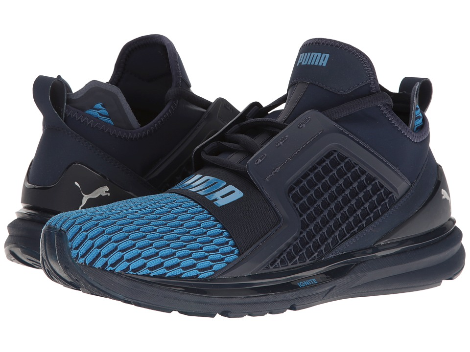 PUMA Ignite Limitless Color Block (Peacoat/French Blue) Men