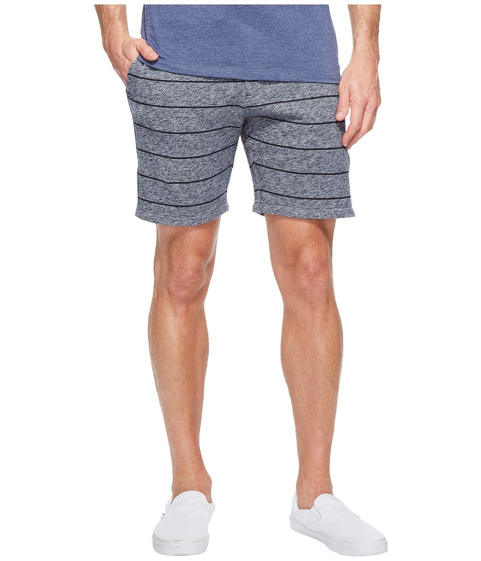Quiksilver Street Fleece Shorts (Navy Blazer) Men