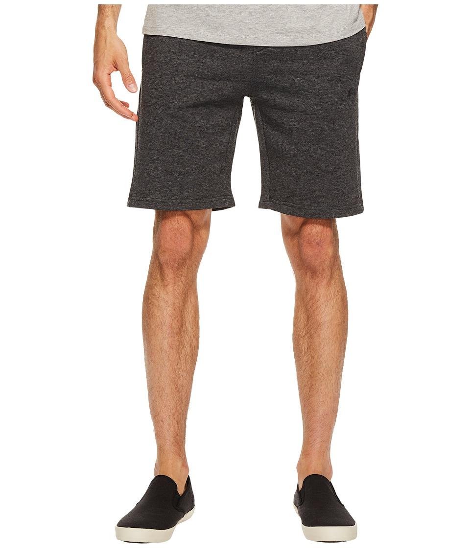 Quiksilver Everyday Track Shorts (Dark Grey Heather) Men