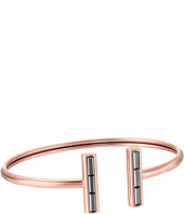 Michael Kors - Midnight Rose Gold and Hematite Flex Open Cuff Bracelet