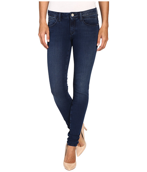 Mavi Jeans Adriana Midrise Super Skinny in Rinse Brushed Bi Stretch