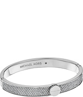 Michael Kors - Logo Pavé Hinged Bangle Bracelet