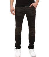 G-Star - 5620 3D Slim Pattern Mix in Slander Black Super Stretch Dark Aged
