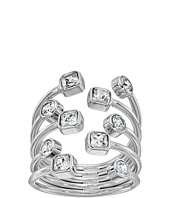 Michael Kors - Mixed Shape CZ Set Stone Statement Open Statement Ring