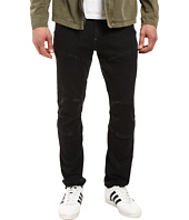 G-Star - 5620 3D Sport Tapered Jeans in Black Sweat Denim Dark Aged