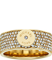 Michael Kors - Logo Pavé Disc Band Ring