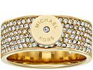 Michael Kors - Logo Pavé Disc Band Ring
