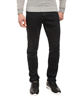 G-Star - 5620 3D Tapered Trainer Color Jeans in Slander Bionic Black Super Stretch Overdye/Mazarine Blue