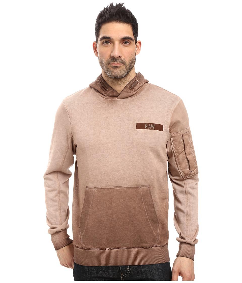 G-Star Batt Hooded Sweater Long Sleeve (Dark Bison) Men