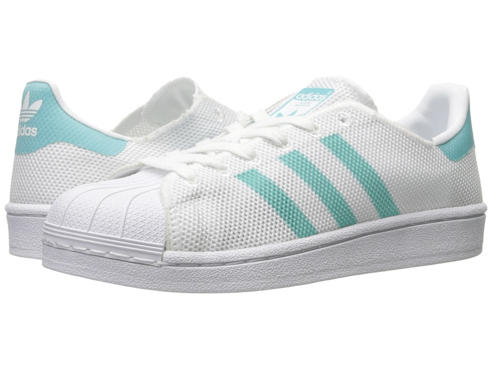 Adidas Originals - Superstar (Footwear White/Easy Mint S1...