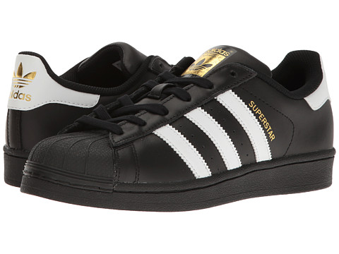 adidas Originals Superstar - Core Black/Footwear White/Gold Metallic