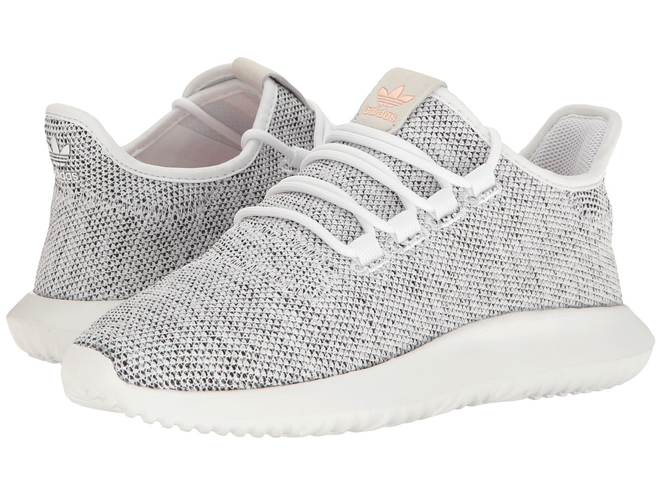 adidas Originals - Tubular Shadow (Footwear White/Pearl Grey S14/Haze Coral S17) Womens Running Shoes