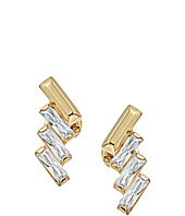 Michael Kors - Chevron and Fringe Crystal Statement Stud Earrings