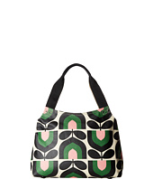 Orla Kiely - Matt Laminated Stripe Tulip Print Classic Zip Shoulder Bag
