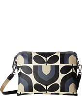 Orla Kiely - Matt Laminated Stripe Tulip Print Travel Pouch