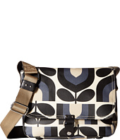 Orla Kiely - Matt Laminated Stripe Tulip Print Small Satchel