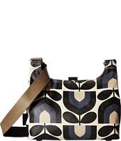 Orla Kiely - Matt Laminated Stripe Tulip Print Mini Sling Bag