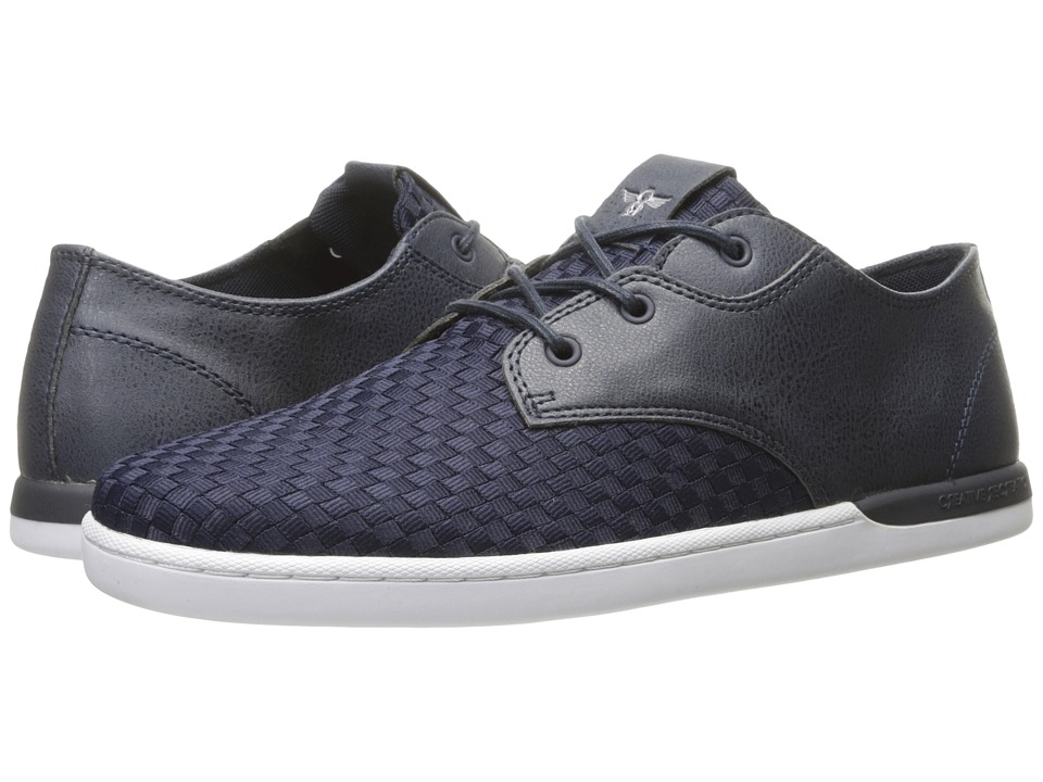 Creative Recreation - Vito Lo (Navy Woven) Mens Lace up casual Shoes